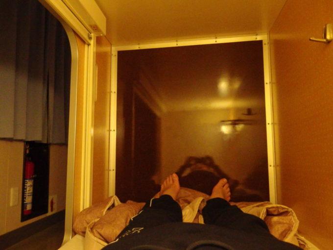 太平洋フェリーきそB寝台室内