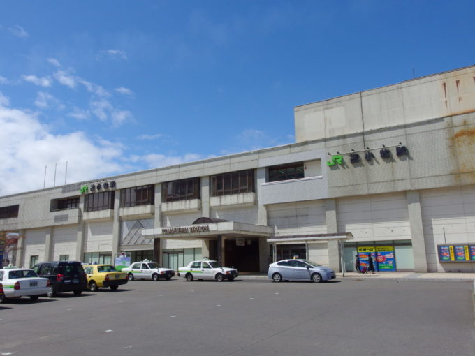ゴールデンウイーク1年ぶりの苫小牧駅
