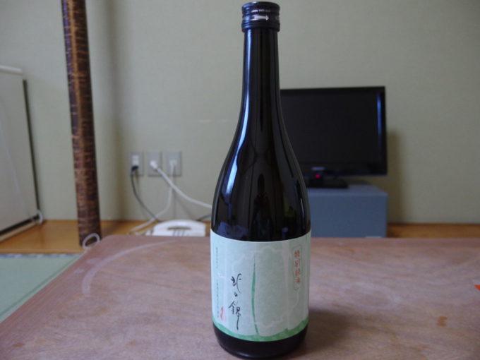 カルルス温泉鈴木旅館夜のお供に北の錦特別純米酒