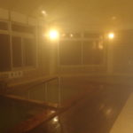 カルルス温泉鈴木旅館夜の大浴場