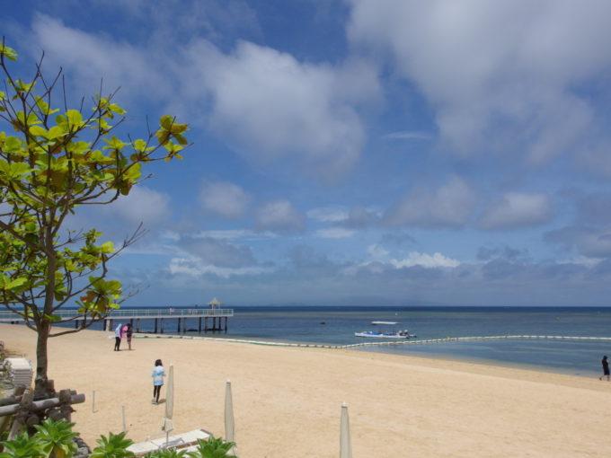 夏の石垣島フサキビーチ