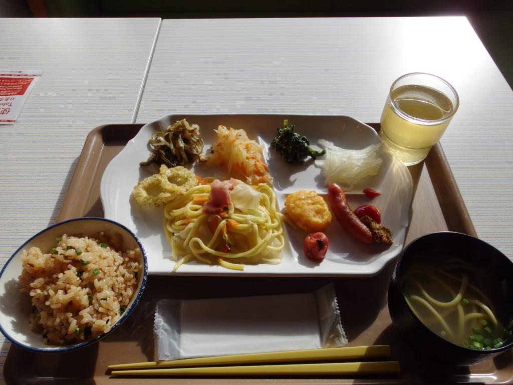 ベッセルホテル石垣島4泊目朝食