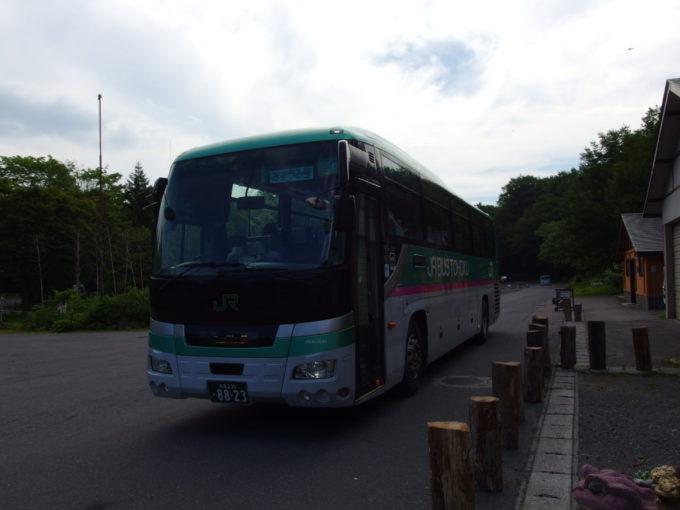 JRバス東北みずうみ号で蔦温泉から青森駅へ