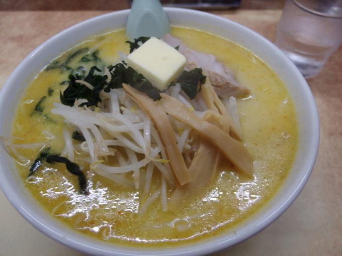 青森味の札幌大西味噌カレー牛乳ラーメン(バター入り)