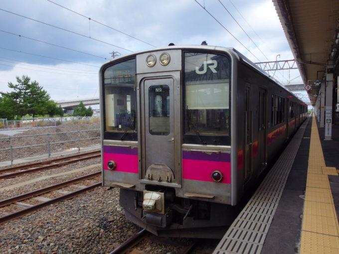 奥羽本線普通列車で青森から弘前へ
