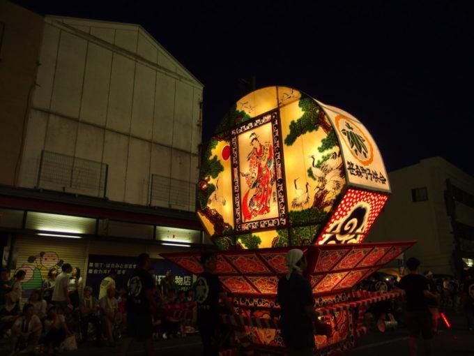 夏の弘前ねぷた祭り令和元年を祝う見送り絵