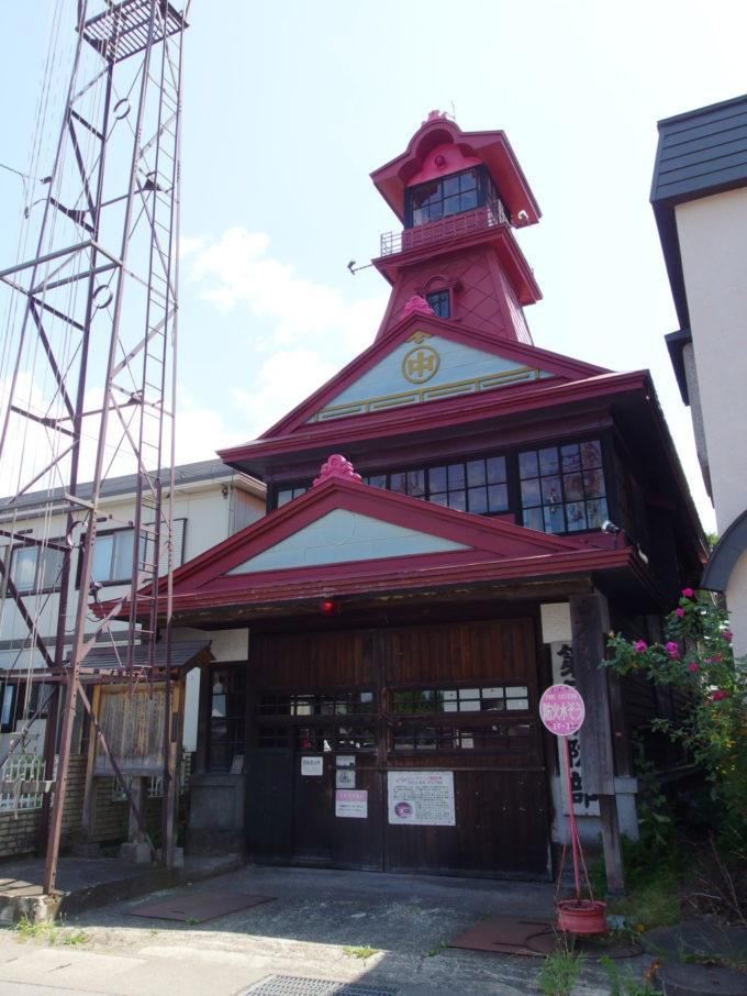 黒石消防団第三消防部の火の見櫓
