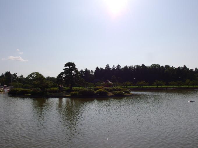 津軽尾上猿賀神社見晴ヶ池