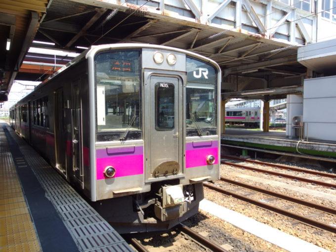 羽越本線701系酒田行き普通列車
