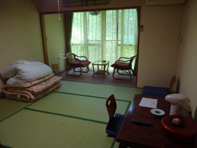 金浦温泉学校の栖客室