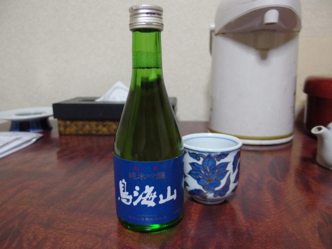 金浦温泉学校の栖夜のお供に鳥海山純米吟醸