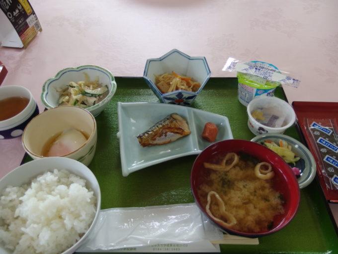 金浦温泉学校の栖朝食