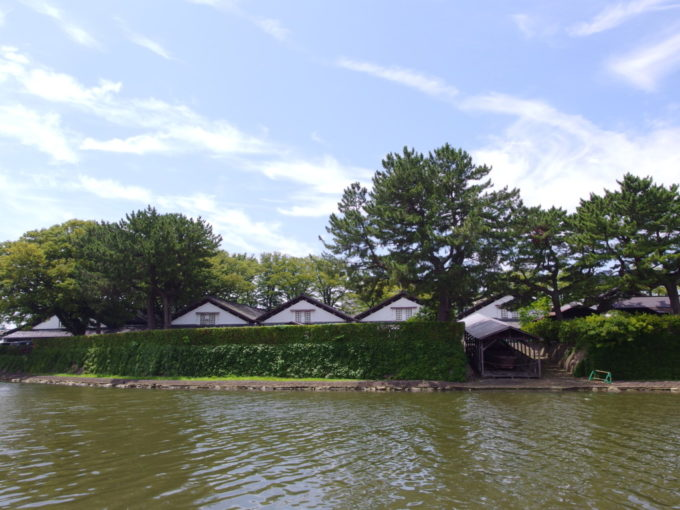 夏の酒田山居倉庫を振り返りもう一度