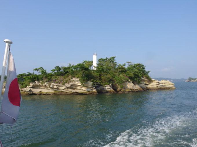 日本三景松島丸文松島汽船地蔵島灯台が見えれば塩釜はもうすぐ