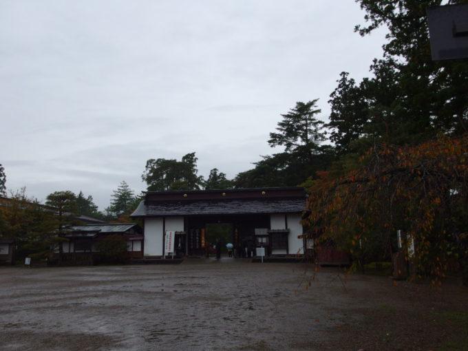 秋の平泉毛越寺