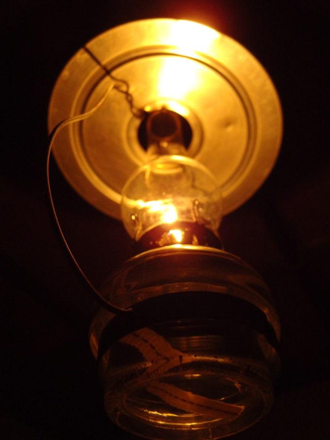 冬のランプの宿青荷温泉ランプの灯りと寄り添い過ごす夜