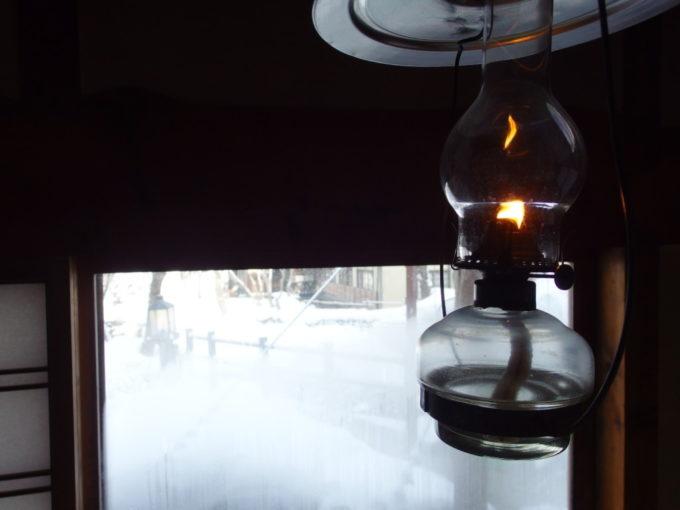 冬のランプの宿青荷温泉連泊で味わったランプの温もりに別れを告げる