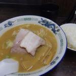 長尾中華そば青森駅前店こく煮干し手打ち麺