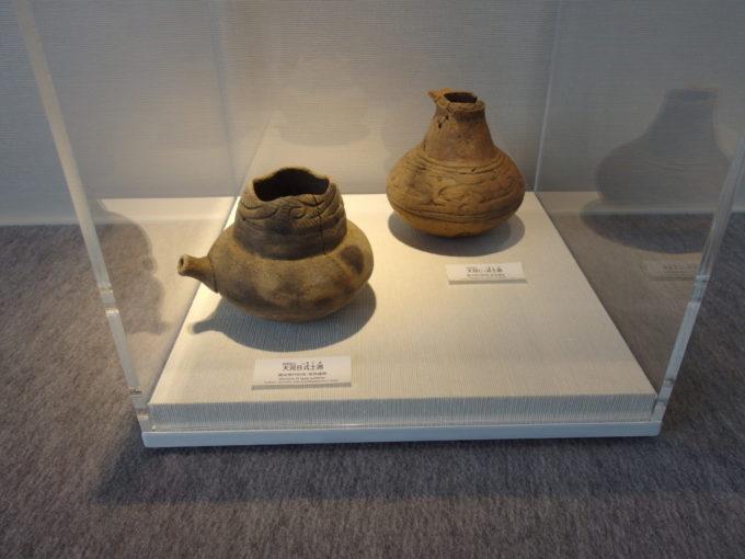 あおもり北のまほろば歴史館注ぎ口の付いた縄文式土器
