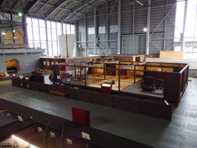 あおもり北のまほろば歴史館に再現された明治から昭和の青森での暮らし
