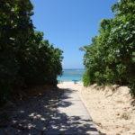 6月下旬人の少ない石垣島帰り際に振り返りもう一度真栄里ビーチを