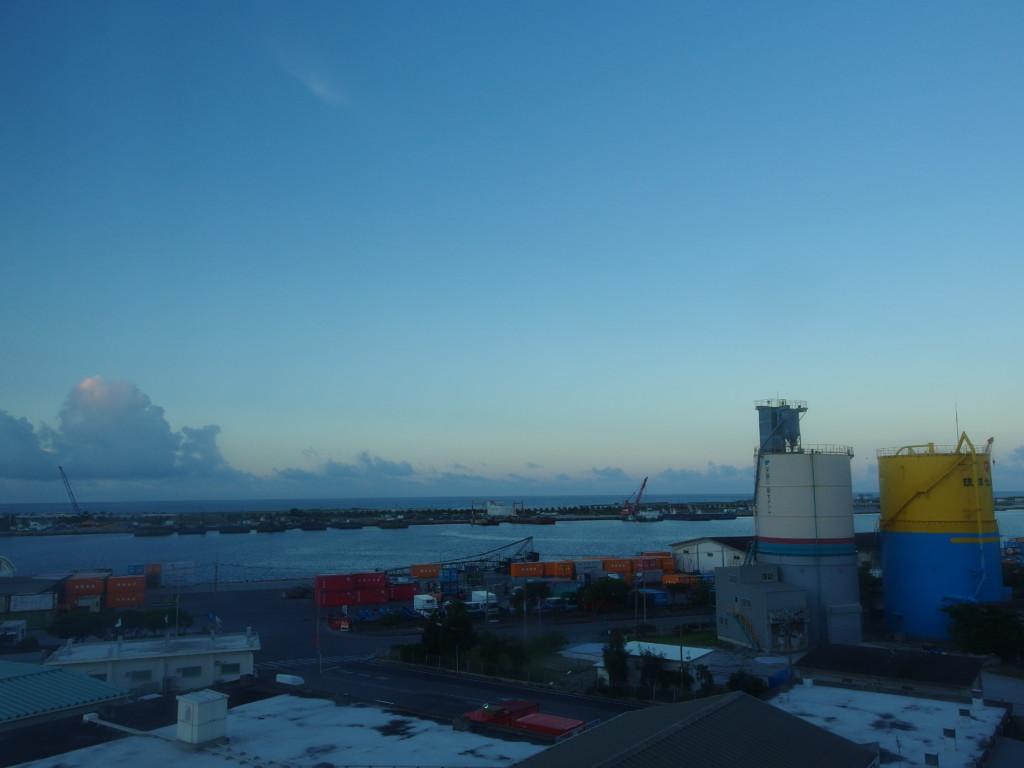 6月下旬石垣島で迎える静かな朝