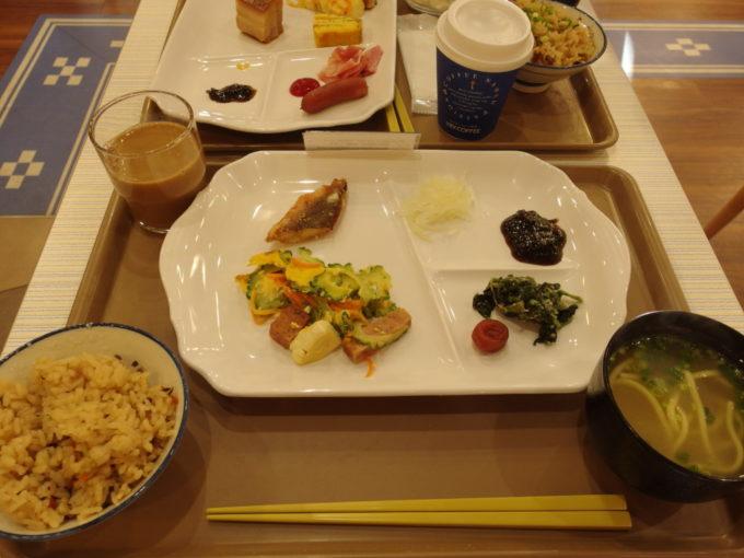 ベッセルホテル石垣島2泊目朝食