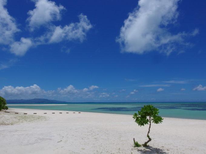 6月下旬人のいない竹富島あまりにも美しいコンドイビーチに別れを告げる