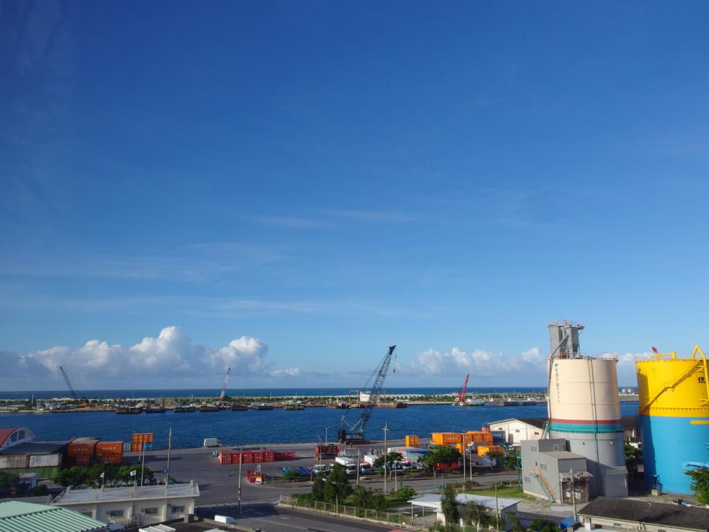 6月下旬人の少ない石垣島ベッセルホテル石垣島で迎える爽やかな朝