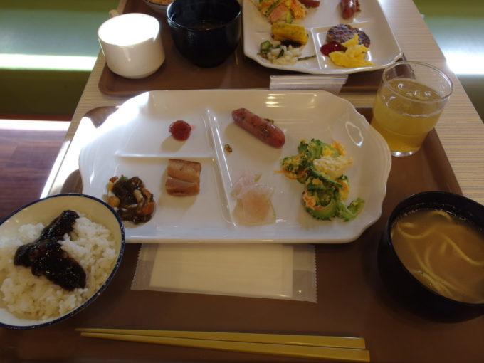 ベッセルホテル石垣島5泊目朝食