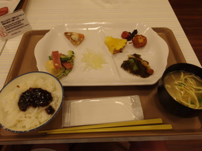 ベッセルホテル石垣島6泊目朝食