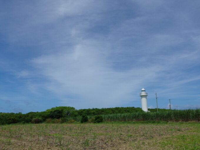 6月下旬人の少ない有人島日本最南端波照間島有人島日本最南端の波照間島灯台