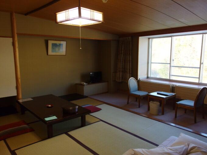 熊の湯ホテル和室客室内