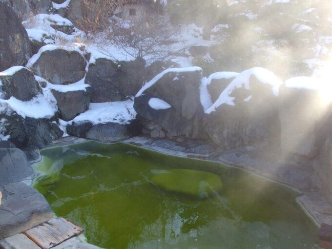 熊の湯ホテル碧落の露天風呂