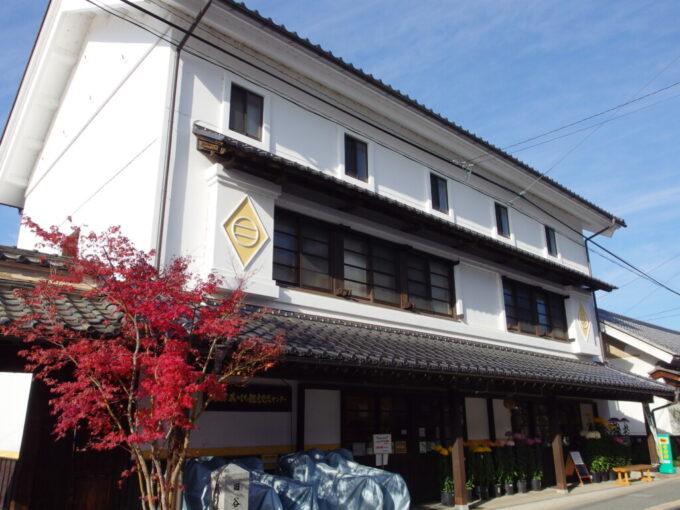 11月中旬の須坂旧まゆ蔵の蔵のまち観光交流センター